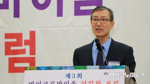 이홍 광운대학교 바이오통합케어경영연구소장 <사진 : 박종호 인턴기자>