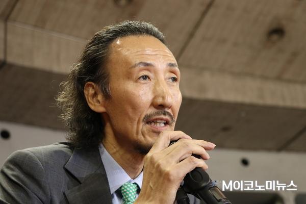 한기범 사단법인 한기범희망나눔 회장 / 사진 : 김선재 기자