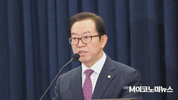 개회사 하는 자유한국당 이종배 의원(충북 충주) <사진 : 김선재 기자>