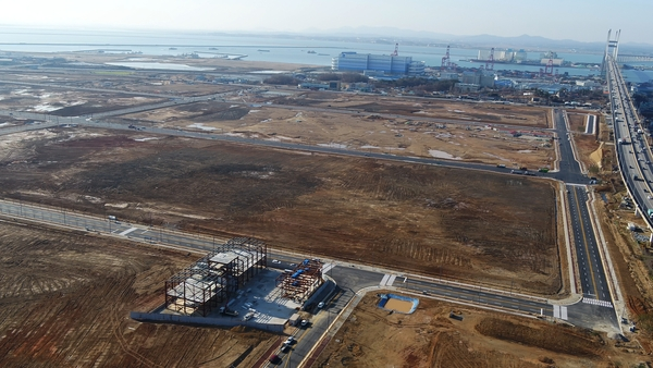 경기도 황해경제청, 평택 포스(BIX) 지구 조기 분양 활성화 추진